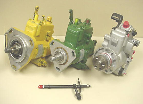 pumps rebuild service for exchange pumps injectors and replacement